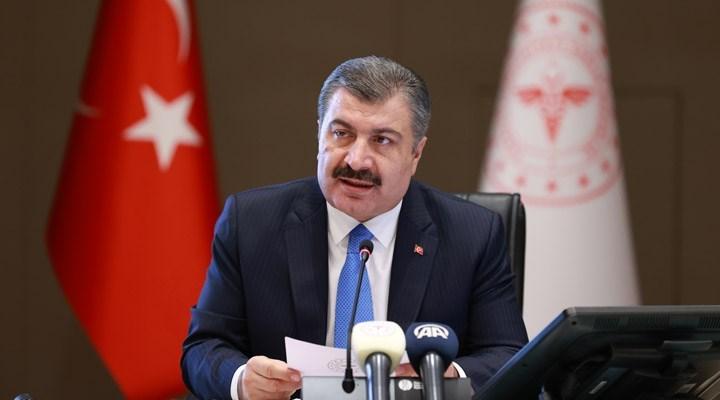 Sağlık Bakanı: İki doz aşısını yaptıranlar yüzde 50'yi geçti
