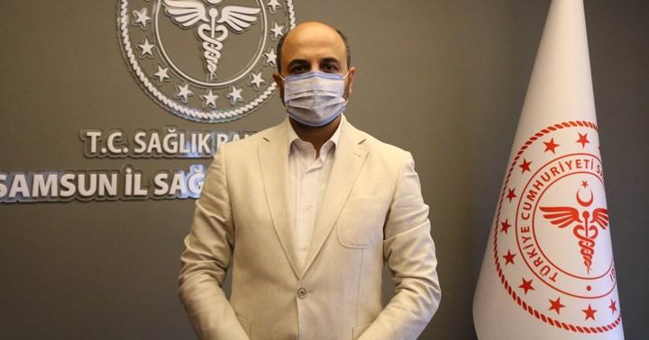 Samsun İl Sağlık Müdürü: Aşılamadan sonra hastaneye yatışlar 4 kat azaldı